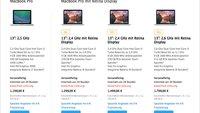 Apple will MacBook Pro ohne Retina-Auflösung aus dem Verkehr ziehen