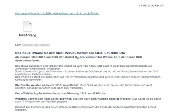 Mail-Leak-iPhone 5c