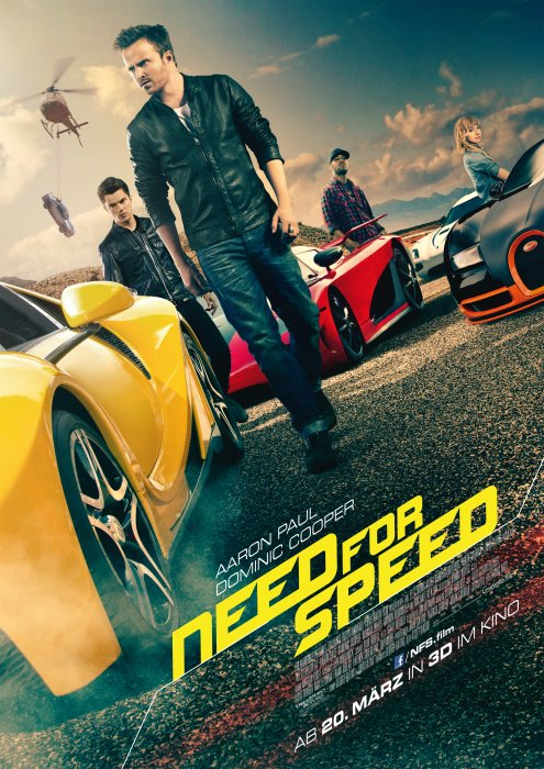 Need for Speed Filmposter