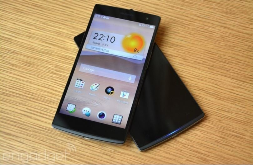Oppo-Find-7-schwarz-front-hands-on