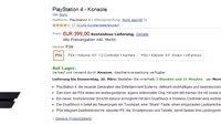 PS4 kaufen: PlayStation 4 ist derzeit wieder auf Amazon.de lieferbar!