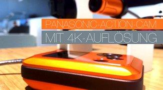 Neue Panasonic-Action-Cam mit 4K-Auflösung