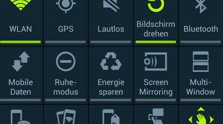 Samsung Galaxy S4: Quick Toggles und Schnelleinstellungen anpassen