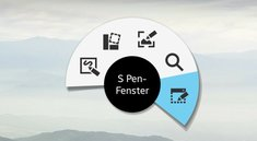 S Pen Apps: Das S Pen-Fenster