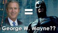 George Bush ist Batman?: 3 Filme und ihre versteckten Bedeutungen