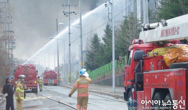 Samsung Galaxy S5: Großbrand in südkoreanischer Fabrik könnte Verkaufsstart gefährden