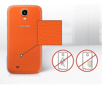 Samsung-Galaxy-S4-Note-3-black-edition-leder-back-cover-akkudeckel-orange