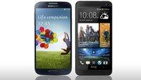 HTC One vs. Samsung Galaxy 4: Die technischen Daten im Vergleich