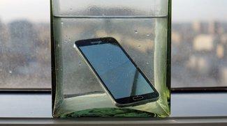 Samsung Galaxy S5: Erster Testbericht, Video zur IP67-Wasserdichte [Video]