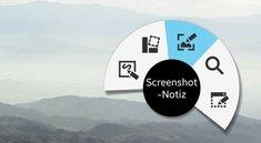 S Pen Apps: Screenshot-Notiz