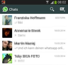 WhatsApp Zuletzt Online-Status ausschalten (Android) - Bild für Bild