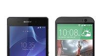 HTC One (M8) vs. Sony Xperia Z2: Die technischen Daten im Vergleich
