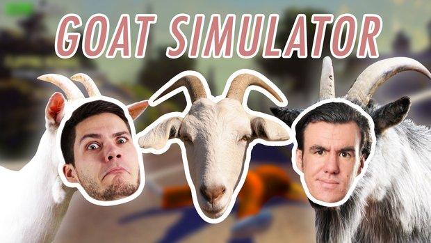 GIGA Game(Fail?)play: Der Goat Simulator - wir spielen eine Ziege und es ist großartig!
