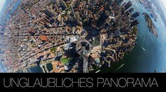 Atemberaubendes 360 Grad Panorama vom Freedom Tower aus