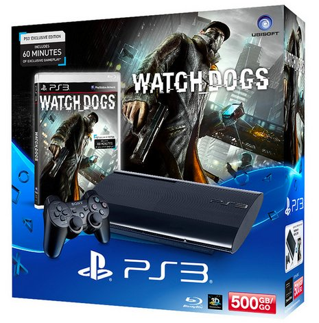 Watch Dogs PS3 Bundle
