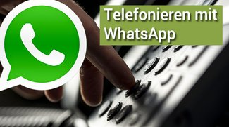 WhatsApp Telefoniefunktion: So sieht sie aus
