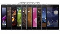 Xperia Themes: Wechselbare Nutzeroberflächen für Sony-Geräte vorgestellt