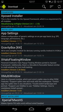 Xposed-App-Framework-Downloads