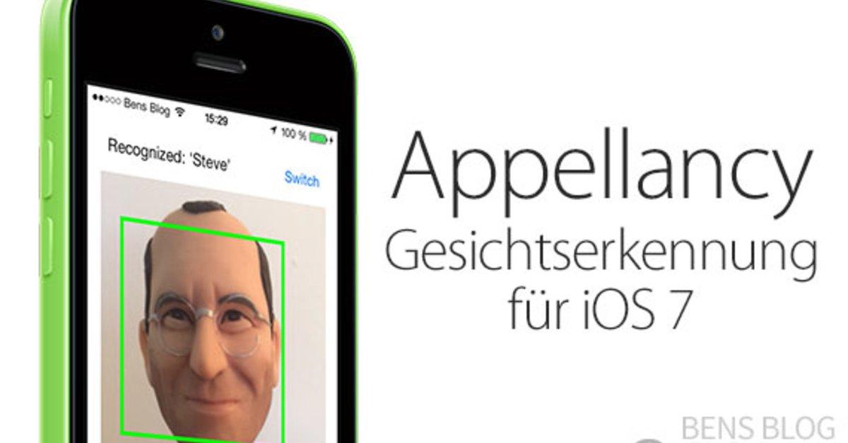 Appellancy: iPhone entsperren mit Gesichtserkennung für iOS 7