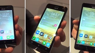 ASUS Zenfone 4, 5 &amp&#x3B; 6: Schicke Einsteiger-Smartphones im Hands-On-Video [MWC 2014]