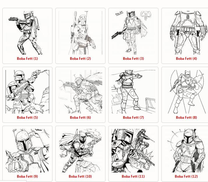 Star Wars Ausmalbilder kostenlos herunterladen und ausdrucken – GIGA
