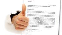 Bewerbungsschreiben: Muster in Word benutzen und gut ankommen