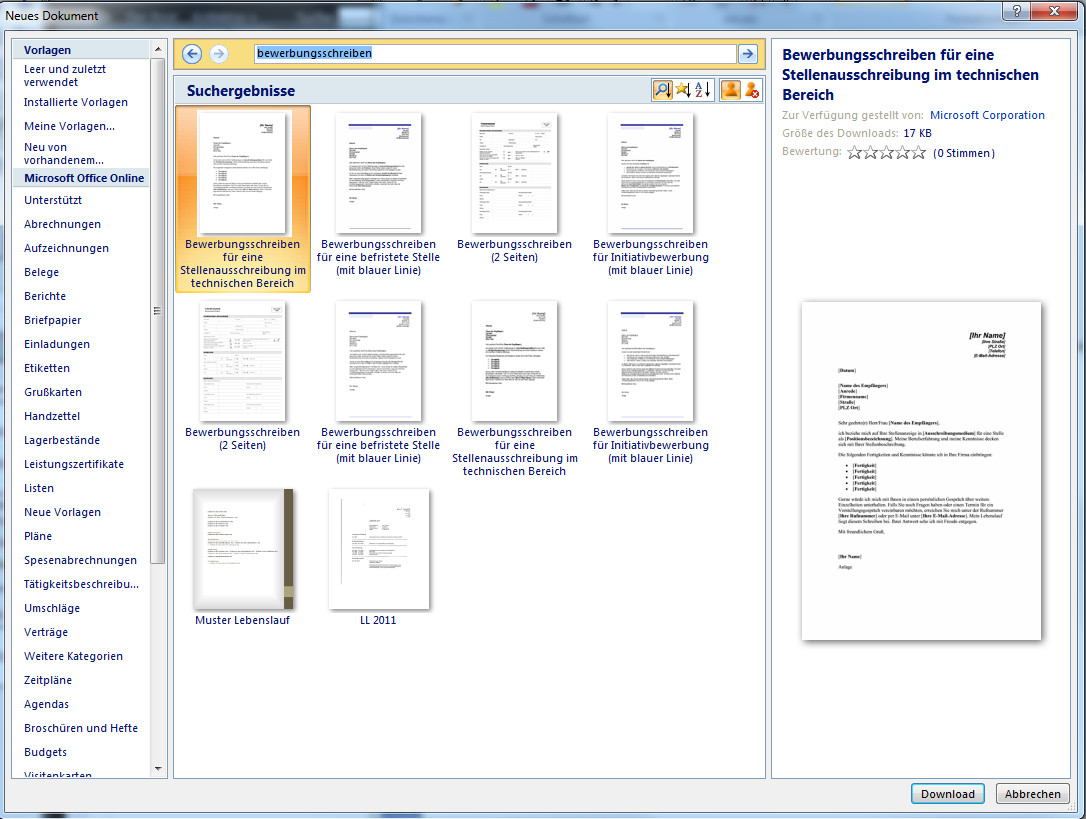 Bewerbung Mit Word Schreiben | twentetrailriding
