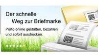 Briefmarken online kaufen und am PC ausdrucken