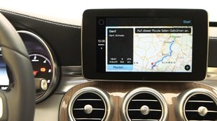 Apple CarPlay: Video zeigt Einsatz in der neuen C-Klasse