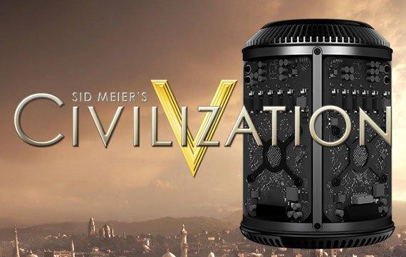 Civilization V optimiert für neuen Mac Pro, unterstützt 4K-Displays