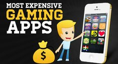 Die 13 teuersten Spiele-Apps bei iOS und Android (Infografik)
