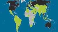 Verbreitung von iOS und Android: Apple dominiert den Westen
