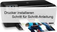 So kann man einen Drucker installieren und einrichten unter Windows (auch ohne CD)