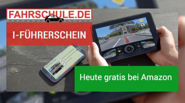 Führerschein-App im Wert von 12,99€ heute gratis bei Amazon