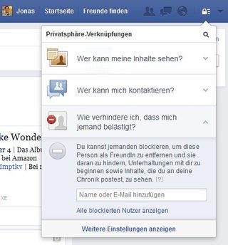 Blockiert Auf Facebook