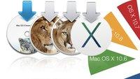 Mac OS X: Fragmentierung nimmt zu (Exklusive Zahlen)