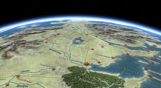 Game Of Thrones Landkarte Englisch Und Deutsch Und U Bahn Plan