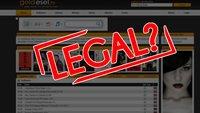 Goldesel.to: Filme, Musik und Games kostenlos ansehen und downloaden - Ist das legal?