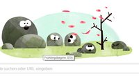 Frühlingsbeginn 2016 heute: Der Frühling erwacht bei Google