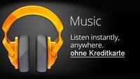 Google Play Music: Ohne Kreditkarte kostenlose Musik downloaden