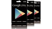 Google Play Store: Guthabenkarten jetzt auch in der Schweiz