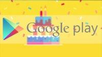 Google Play Store: Geburtstagsangebote auf Spiele, Apps und mehr
