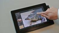 Fujitsu arbeitet an einem haptisch-sensorischen Tablet: Endlich fühlen, was man sieht!