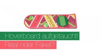 Hoverboard aufgetaucht und Tony Hawk testet es! Real oder Fake?