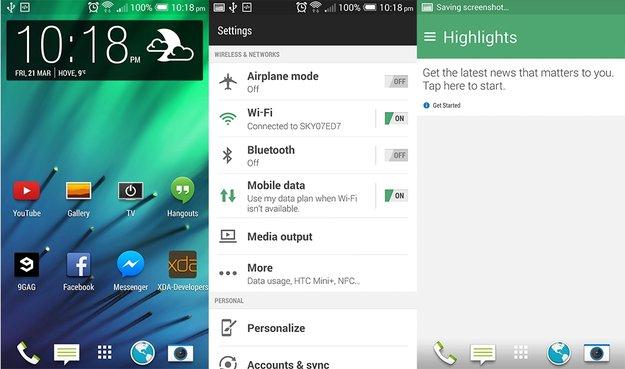 "HTC One (2013): Sense 6.0-Custom ROM ""Sixth Sense"" bringt M8-Funktionen auf das M7"