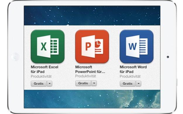 Office für iPad: Update bringt Unterstützung von AirPrint-Druckern