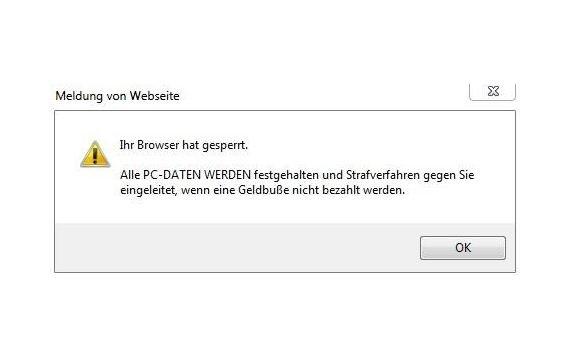 """""""Ihr Browser hat gesperrt"""": Das kann man gegen den Virus tun"""