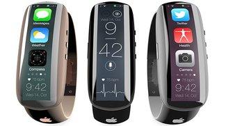 """iWatch-Konzept """"iMe"""": Fast wie Samsung Gear Fit, aber ohne Genickstarre"""