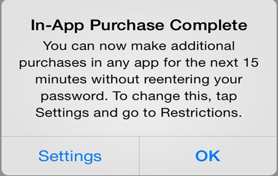 Apple gibt in iOS 7.1 Hinweis zu in-App-Käufen