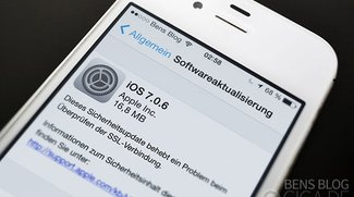 Über 50 Prozent der Nutzer haben iOS 7.0.6 bereits installiert
